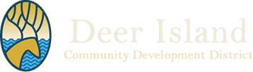 Deer Island Community Development District Logo